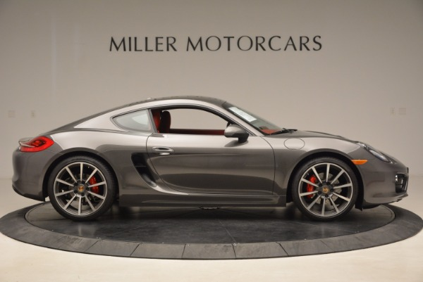 Used 2014 Porsche Cayman S S for sale Sold at Bugatti of Greenwich in Greenwich CT 06830 9