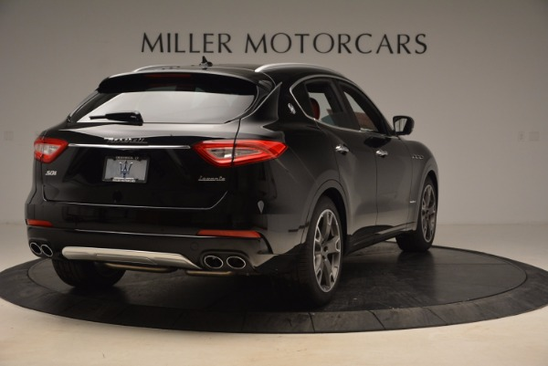 New 2018 Maserati Levante S Q4 GranLusso for sale Sold at Bugatti of Greenwich in Greenwich CT 06830 7
