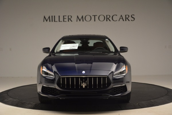 New 2018 Maserati Quattroporte S Q4 GranLusso for sale Sold at Bugatti of Greenwich in Greenwich CT 06830 12