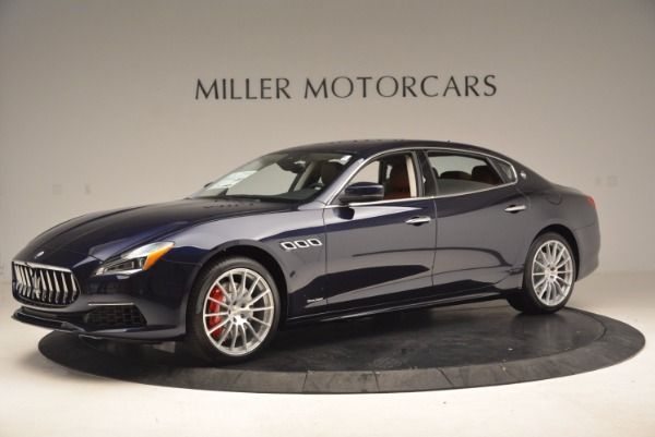 New 2018 Maserati Quattroporte S Q4 GranLusso for sale Sold at Bugatti of Greenwich in Greenwich CT 06830 2