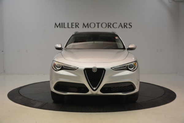 New 2018 Alfa Romeo Stelvio Q4 for sale Sold at Bugatti of Greenwich in Greenwich CT 06830 2