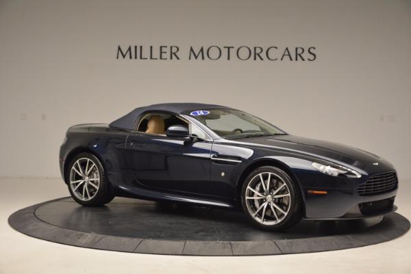 Used 2014 Aston Martin V8 Vantage Roadster for sale Sold at Bugatti of Greenwich in Greenwich CT 06830 17
