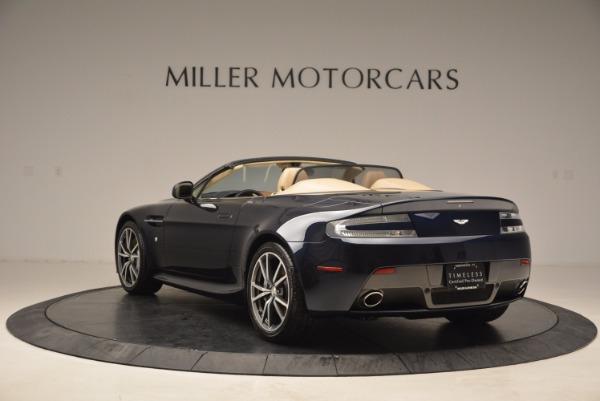Used 2014 Aston Martin V8 Vantage Roadster for sale Sold at Bugatti of Greenwich in Greenwich CT 06830 5