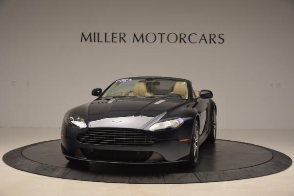 Used 2014 Aston Martin V8 Vantage Roadster for sale Sold at Bugatti of Greenwich in Greenwich CT 06830 1