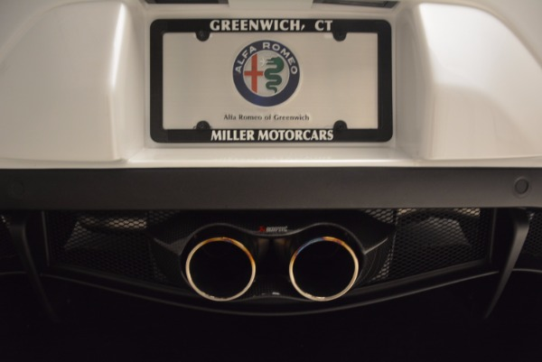 New 2018 Alfa Romeo 4C Coupe for sale Sold at Bugatti of Greenwich in Greenwich CT 06830 22