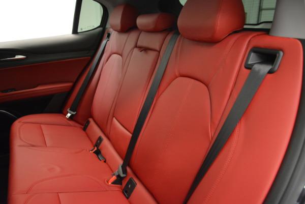 New 2018 Alfa Romeo Stelvio Q4 for sale Sold at Bugatti of Greenwich in Greenwich CT 06830 24