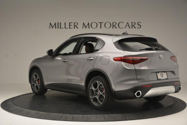 New 2018 Alfa Romeo Stelvio Sport Q4 for sale Sold at Bugatti of Greenwich in Greenwich CT 06830 4