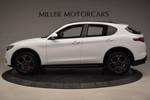 New 2018 Alfa Romeo Stelvio Sport Q4 for sale Sold at Bugatti of Greenwich in Greenwich CT 06830 3