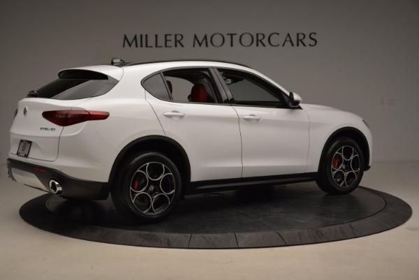 New 2018 Alfa Romeo Stelvio Sport Q4 for sale Sold at Bugatti of Greenwich in Greenwich CT 06830 8