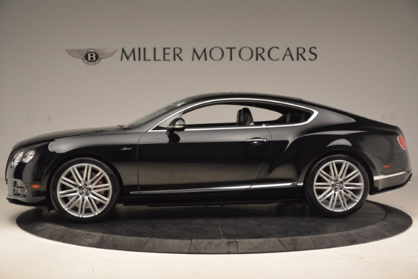 Used 2015 Bentley Continental GT Speed for sale Sold at Bugatti of Greenwich in Greenwich CT 06830 3