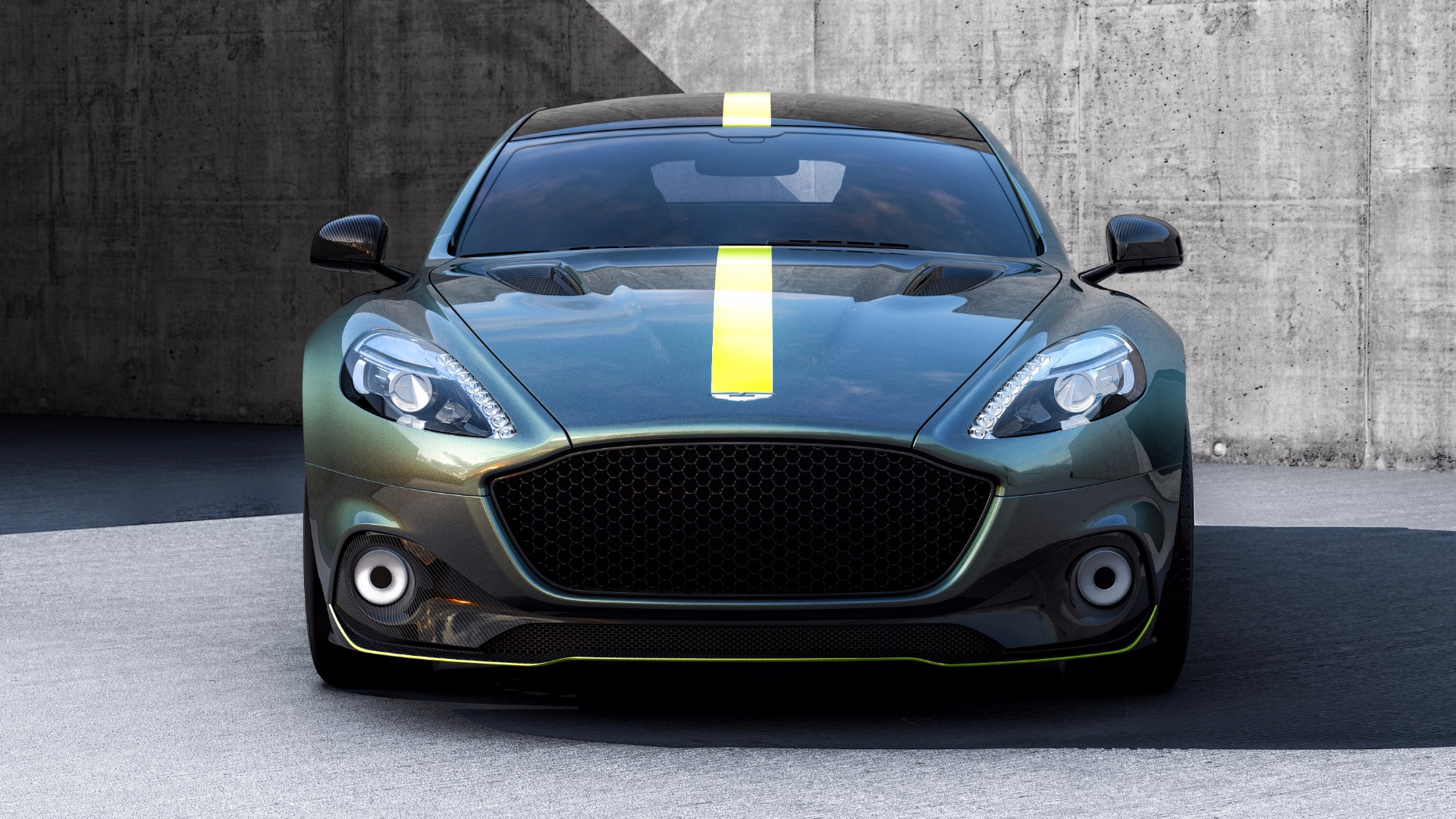 New 2019 Aston Martin Rapide AMR Shadow Edition for sale Sold at Bugatti of Greenwich in Greenwich CT 06830 1