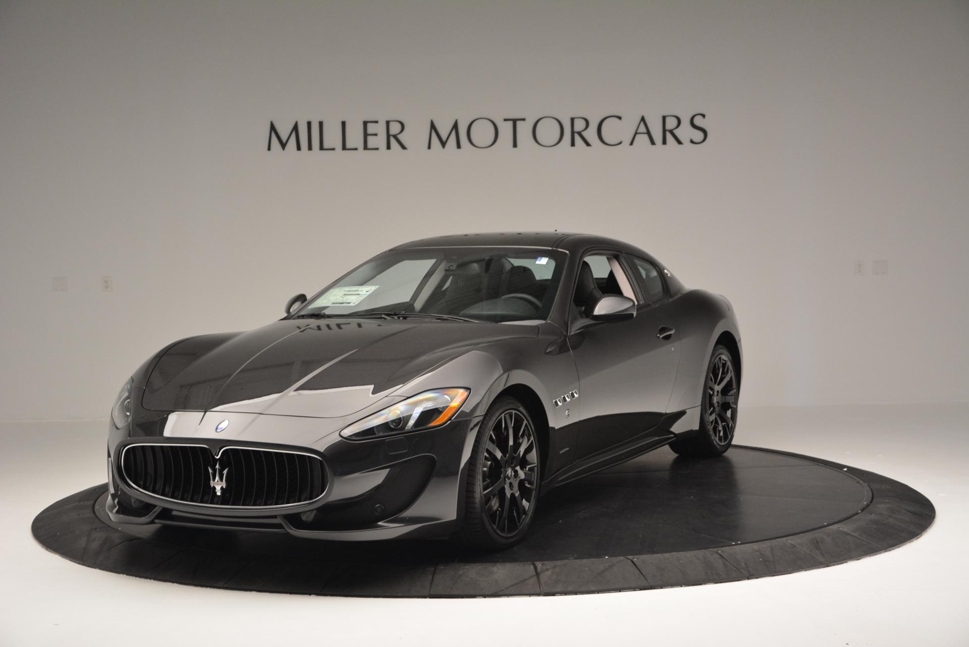 New 2016 Maserati GranTurismo Sport for sale Sold at Bugatti of Greenwich in Greenwich CT 06830 1