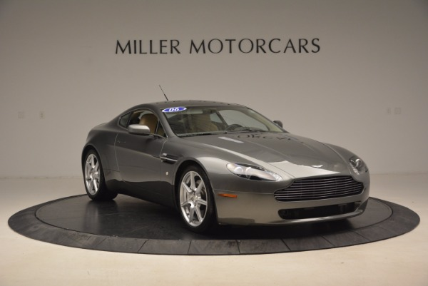 Used 2006 Aston Martin V8 Vantage for sale Sold at Bugatti of Greenwich in Greenwich CT 06830 11