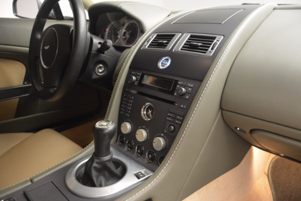 Used 2006 Aston Martin V8 Vantage for sale Sold at Bugatti of Greenwich in Greenwich CT 06830 16