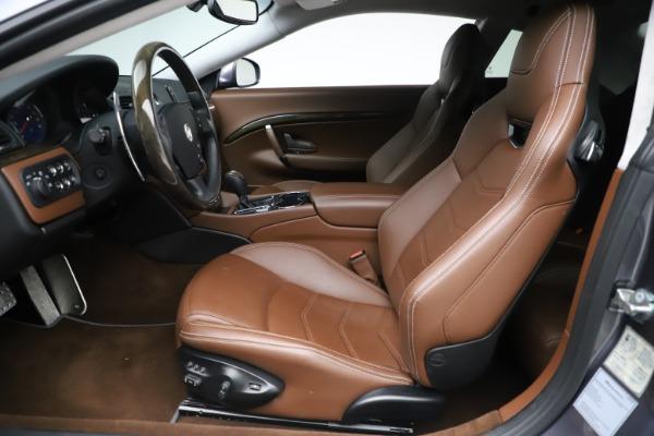 Used 2016 Maserati GranTurismo Sport for sale Sold at Bugatti of Greenwich in Greenwich CT 06830 14