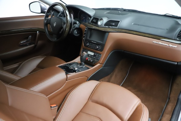 Used 2016 Maserati GranTurismo Sport for sale Sold at Bugatti of Greenwich in Greenwich CT 06830 18