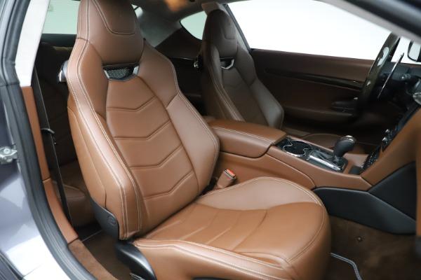 Used 2016 Maserati GranTurismo Sport for sale Sold at Bugatti of Greenwich in Greenwich CT 06830 20