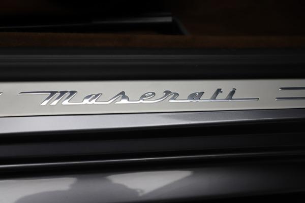 Used 2016 Maserati GranTurismo Sport for sale Sold at Bugatti of Greenwich in Greenwich CT 06830 22