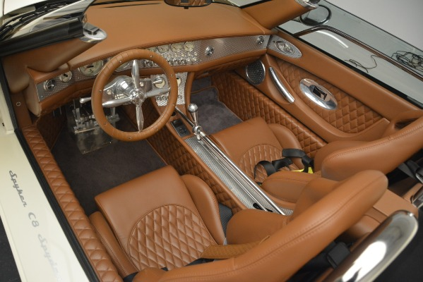 Used 2006 Spyker C8 Spyder for sale Sold at Bugatti of Greenwich in Greenwich CT 06830 13