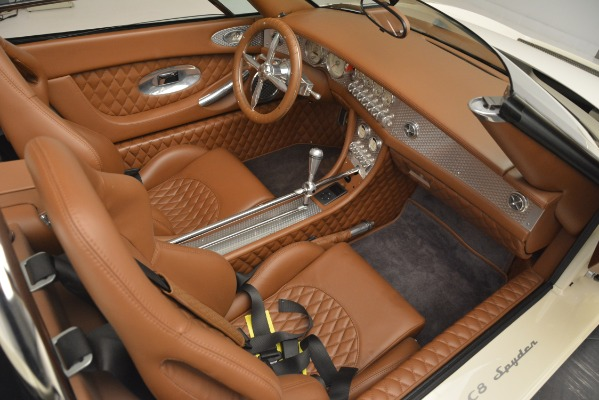 Used 2006 Spyker C8 Spyder for sale Sold at Bugatti of Greenwich in Greenwich CT 06830 21