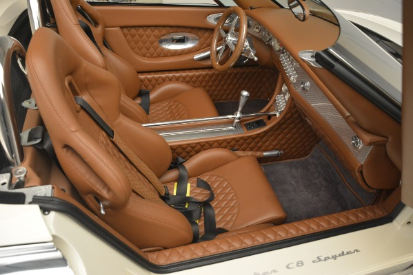 Used 2006 Spyker C8 Spyder for sale Sold at Bugatti of Greenwich in Greenwich CT 06830 22