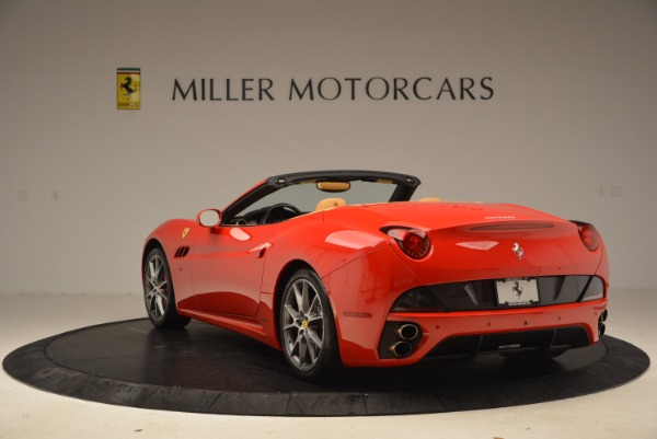 Used 2010 Ferrari California for sale Sold at Bugatti of Greenwich in Greenwich CT 06830 5
