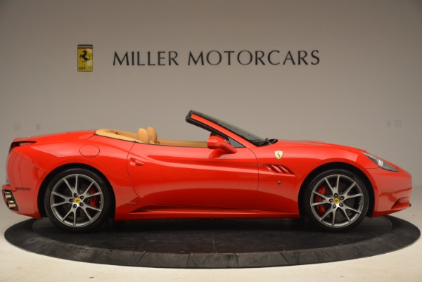 Used 2010 Ferrari California for sale Sold at Bugatti of Greenwich in Greenwich CT 06830 9