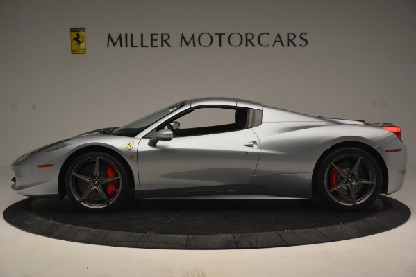 Used 2015 Ferrari 458 Spider for sale Sold at Bugatti of Greenwich in Greenwich CT 06830 14