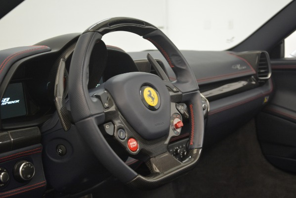 Used 2015 Ferrari 458 Spider for sale Sold at Bugatti of Greenwich in Greenwich CT 06830 26