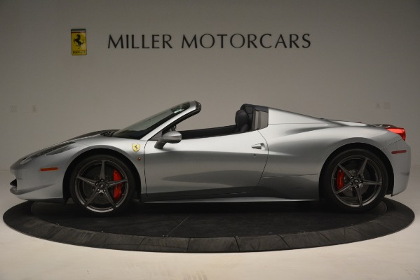 Used 2015 Ferrari 458 Spider for sale Sold at Bugatti of Greenwich in Greenwich CT 06830 3