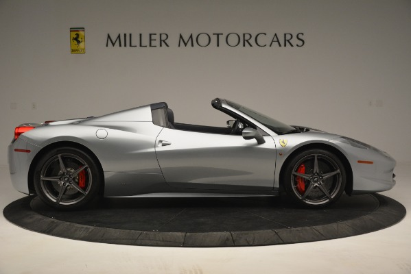 Used 2015 Ferrari 458 Spider for sale Sold at Bugatti of Greenwich in Greenwich CT 06830 9