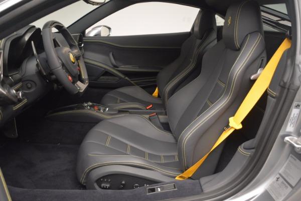 Used 2014 Ferrari 458 Italia for sale Sold at Bugatti of Greenwich in Greenwich CT 06830 14