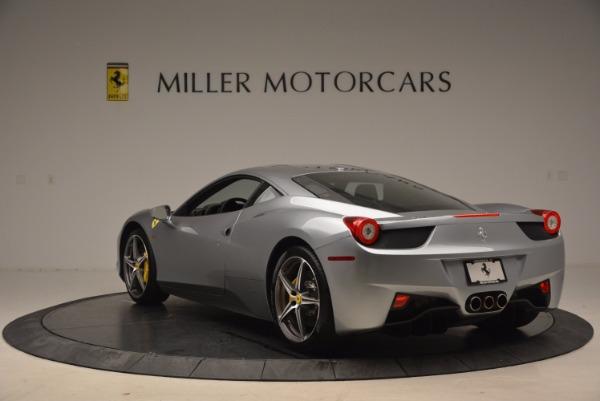 Used 2014 Ferrari 458 Italia for sale Sold at Bugatti of Greenwich in Greenwich CT 06830 5