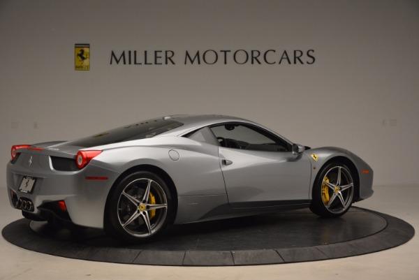 Used 2014 Ferrari 458 Italia for sale Sold at Bugatti of Greenwich in Greenwich CT 06830 8