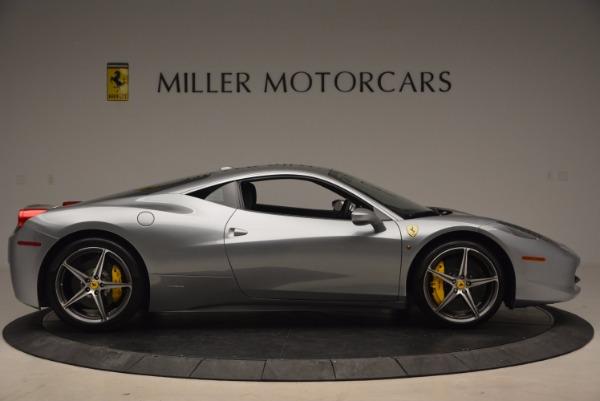Used 2014 Ferrari 458 Italia for sale Sold at Bugatti of Greenwich in Greenwich CT 06830 9