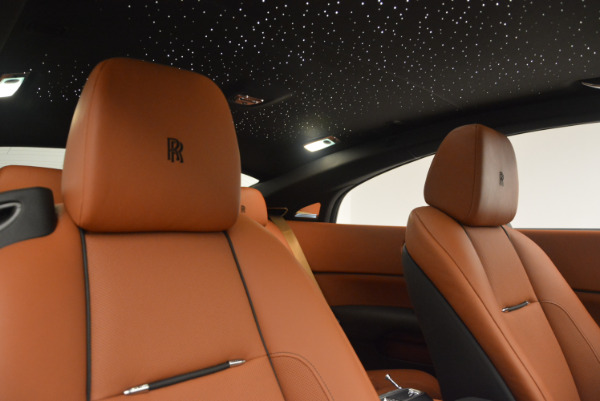 New 2018 Rolls-Royce Wraith for sale Sold at Bugatti of Greenwich in Greenwich CT 06830 24