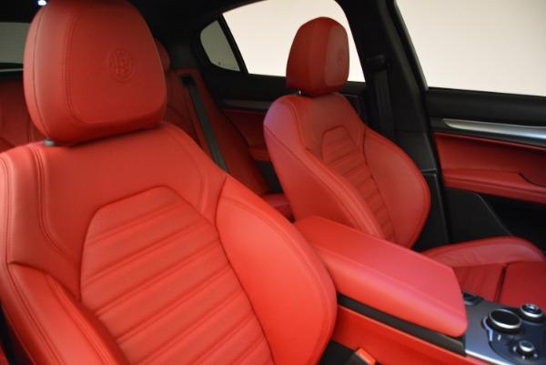 New 2018 Alfa Romeo Stelvio Ti Q4 for sale Sold at Bugatti of Greenwich in Greenwich CT 06830 21