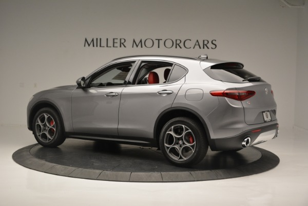 New 2018 Alfa Romeo Stelvio Sport Q4 for sale Sold at Bugatti of Greenwich in Greenwich CT 06830 3