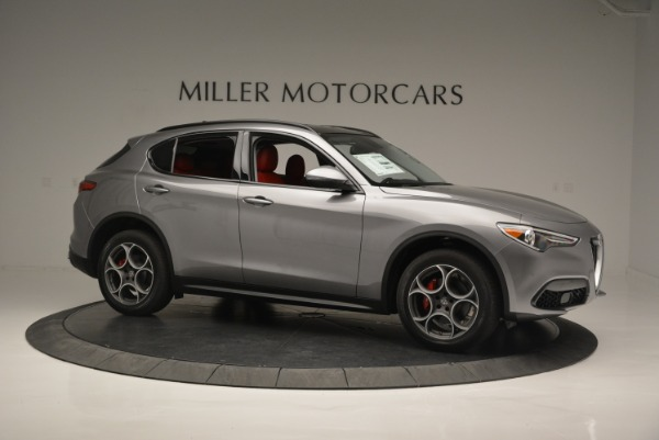 New 2018 Alfa Romeo Stelvio Sport Q4 for sale Sold at Bugatti of Greenwich in Greenwich CT 06830 9