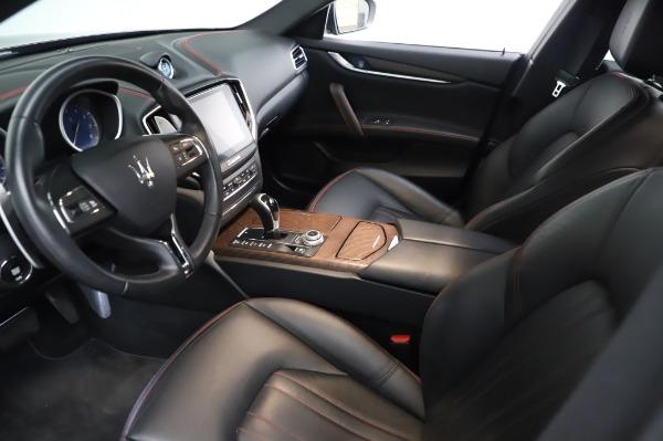Used 2018 Maserati Ghibli S Q4 for sale Sold at Bugatti of Greenwich in Greenwich CT 06830 14
