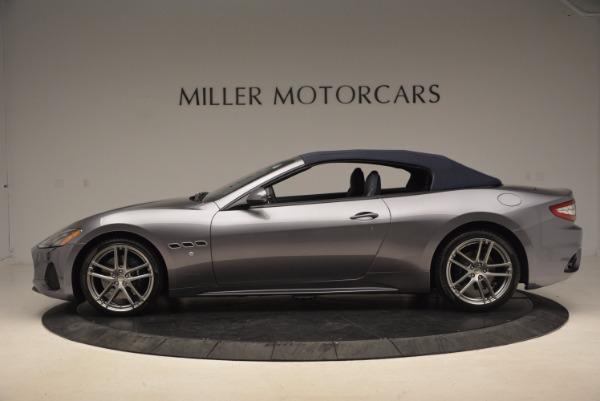 New 2018 Maserati GranTurismo Sport Convertible for sale Sold at Bugatti of Greenwich in Greenwich CT 06830 6