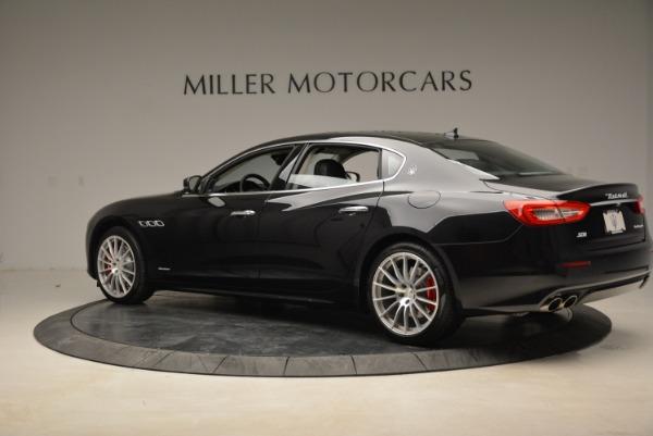 New 2018 Maserati Quattroporte S Q4 GranLusso for sale Sold at Bugatti of Greenwich in Greenwich CT 06830 4