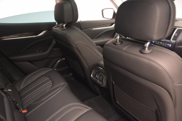 New 2018 Maserati Levante Q4 GranLusso for sale Sold at Bugatti of Greenwich in Greenwich CT 06830 23