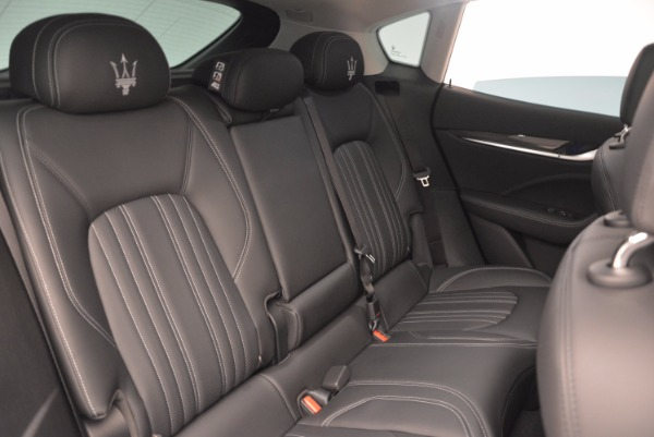 New 2018 Maserati Levante Q4 GranLusso for sale Sold at Bugatti of Greenwich in Greenwich CT 06830 25