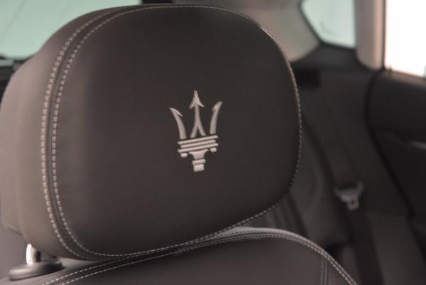 New 2018 Maserati Levante Q4 GranLusso for sale Sold at Bugatti of Greenwich in Greenwich CT 06830 26