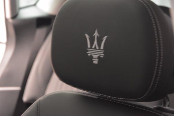 New 2018 Maserati Levante Q4 GranLusso for sale Sold at Bugatti of Greenwich in Greenwich CT 06830 27