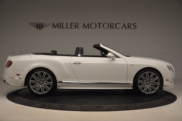 Used 2015 Bentley Continental GT Speed for sale Sold at Bugatti of Greenwich in Greenwich CT 06830 9