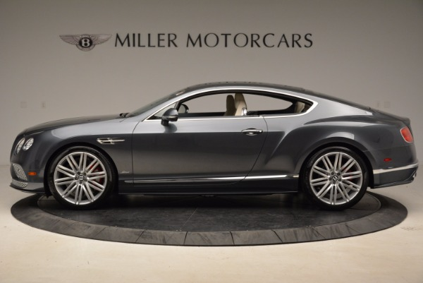 New 2017 Bentley Continental GT Speed for sale Sold at Bugatti of Greenwich in Greenwich CT 06830 3