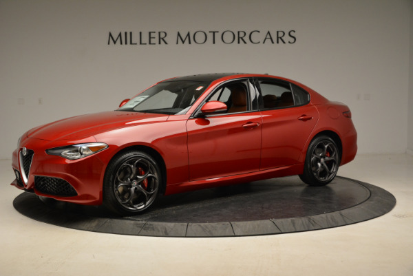 New 2018 Alfa Romeo Giulia Ti Sport Q4 for sale Sold at Bugatti of Greenwich in Greenwich CT 06830 2
