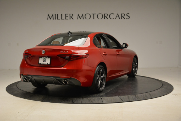 New 2018 Alfa Romeo Giulia Ti Sport Q4 for sale Sold at Bugatti of Greenwich in Greenwich CT 06830 7